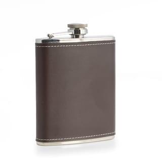 Brooklyn Leather Flask