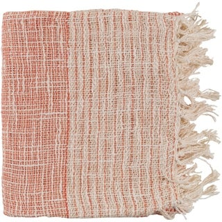 "Britannia Burnt Orange 50"" x 60"" Global Throw"
