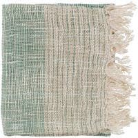 "Britannia Emerald 50"" x 60"" Global Throw"