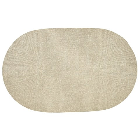 Chenille Reversible Braided Rug - 5' x 8'