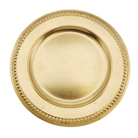 Buy Charger Plates Online At Overstock Our Best Dinnerware Deals