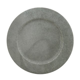 Galvanized Metal Charger Plate - set of 4 pcs