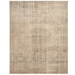 Handmade Herat Oriental Indo Hand-knotted Overdye Moroccan Wool Area Rug (7'9 x 9'7)