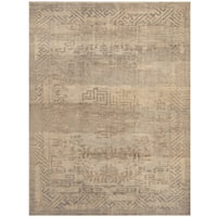 Handmade Herat Oriental Indo Hand-knotted Overdye Moroccan Wool Area Rug - 7'7 x 10'