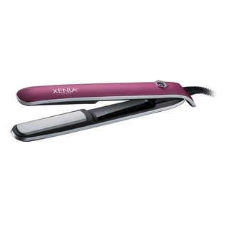 Xenia Paris Sleek 1-inch Rubber Touch Hair Straightener