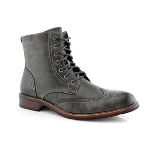 Delli Aldo Kaiser M828A Men's Stylish Ankle Dress Boots For Work or Casual Wear|https://ak1.ostkcdn.com/images/products/18113518/P24268849.jpg?impolicy=medium