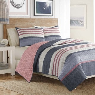 Nautica Angler Pieced Quilt (3 options available)