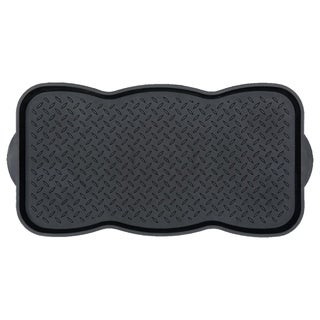 Link to Ottomanson Storage Tray, Pet Bowl Mat Multipurpose Utility Boot Tray Similar Items in Dog Feeders & Waterers