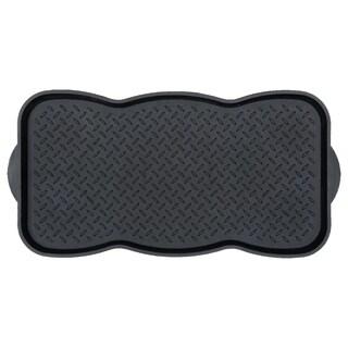 Ottomanson Boot Tray Multi-Purpose Boot Storage Tray, Pet Bowl Mat