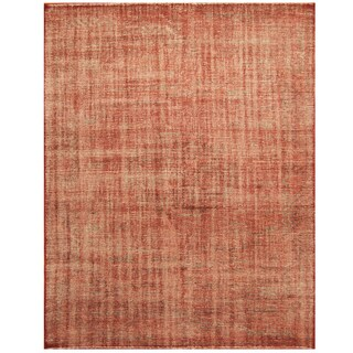 Handmade Herat Oriental Indo Hand-knotted Moroccan Wool Area Rug (7'9 x 10)