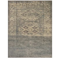Handmade Herat Oriental Indo Hand-knotted Overdye Moroccan Wool Area Rug - 7'8 x 9'6 (India)