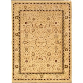 "Sultanabad Collection Hand-Knotted Camel Wool Rug (12' 2"" X 15' 1"")"