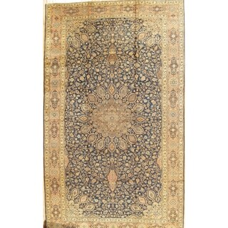 """Antique Tabriz Collection Hand-Knotted Wool Rug (11' 0"""" X 18'10"""")"""