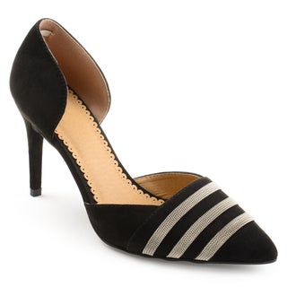 Journee Collection Women's 'Felicia' Pointed Toe D'orsay Heels