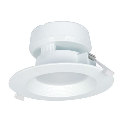 Satco 7W LED Direct Wire Downlight - 3000K - 120V - Dimmable