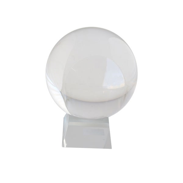Crystal Glass Sphere Small