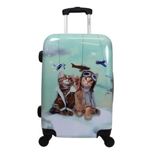 Chariot Toms Cat 20-Inch Hardside Lightweight Upright Spinner Carry-On Luggage