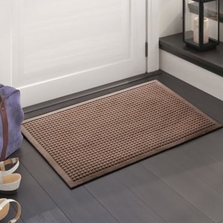 "A1HC Water retainer Indoor/Outdoor Doormat, 24"" x 36"", Skid Resistant, Easy to Clean, Catches Water and Debris"