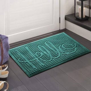 """A1HC First Impression HELLO 24"""" X 36"""" Eco-Poly Indoor/Outdoor Mat"""