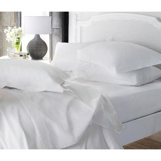 """Super-Soft Luxury 16"""" Deep-Pocket Single Fitted Sheet - Assorted Colors"""