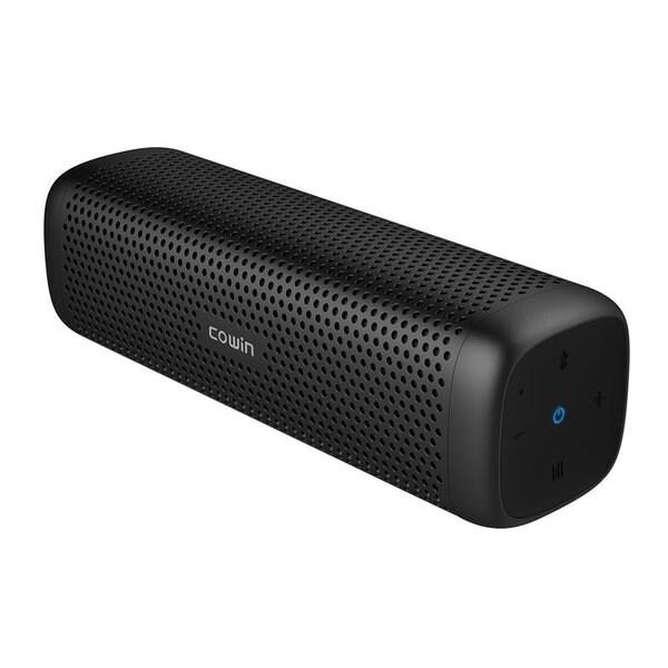 COWIN 6110 4.1 Bluetooth Portable Speaker with 16W Speaker Drivers/2 Passive Radiation, Aluminum-alloy Design, IPX4 Splash Proof