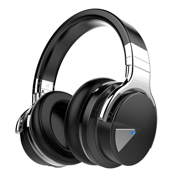 29fcaf7f87f COWIN E7ANC Active Noise Cancelling Bluetooth Over-ear Headphones with  Microphone, Hi-Fi