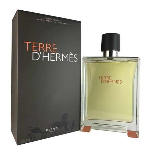 Hermes Terre D' Hermes Men's 16.9-ounce Eau de Toilette Spray