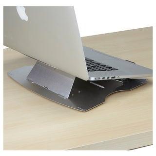 Mind Reader Adjustable Laptop Cooling Stand, Silver