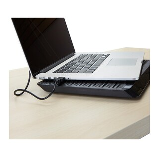 Mind Reader Laptop Cooling Pad, USB Powered, Black