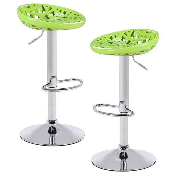Poly And Bark Haystack Adjustable Barstools (Set Of 2)