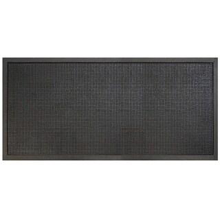 "A1HC First Impression Heavy Duty Rubber Stud 36""X72"" Multi-Utility Doormat"