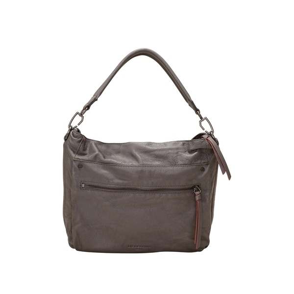 aae146066b38 Shop Liebeskind Berlin Miramar Sporty Leather Hobo Handbag - Free ...