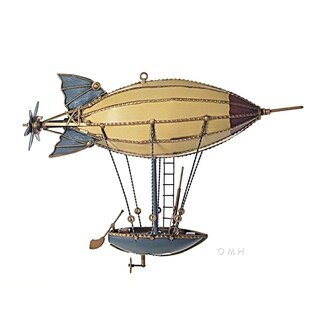 Old Modern Handicrafts Steampunk Airship