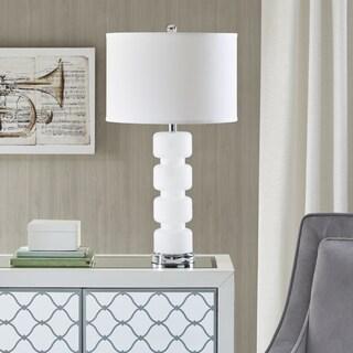 Madison Park Emery White Table Lamp