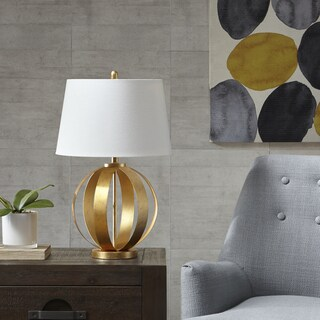 INK+IVY Warren Gold Table Lamp
