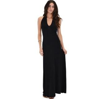 Lyss Loo Love Potion Halter Maxi Dress