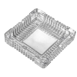 Visol Akiro Square Glass Ashtray
