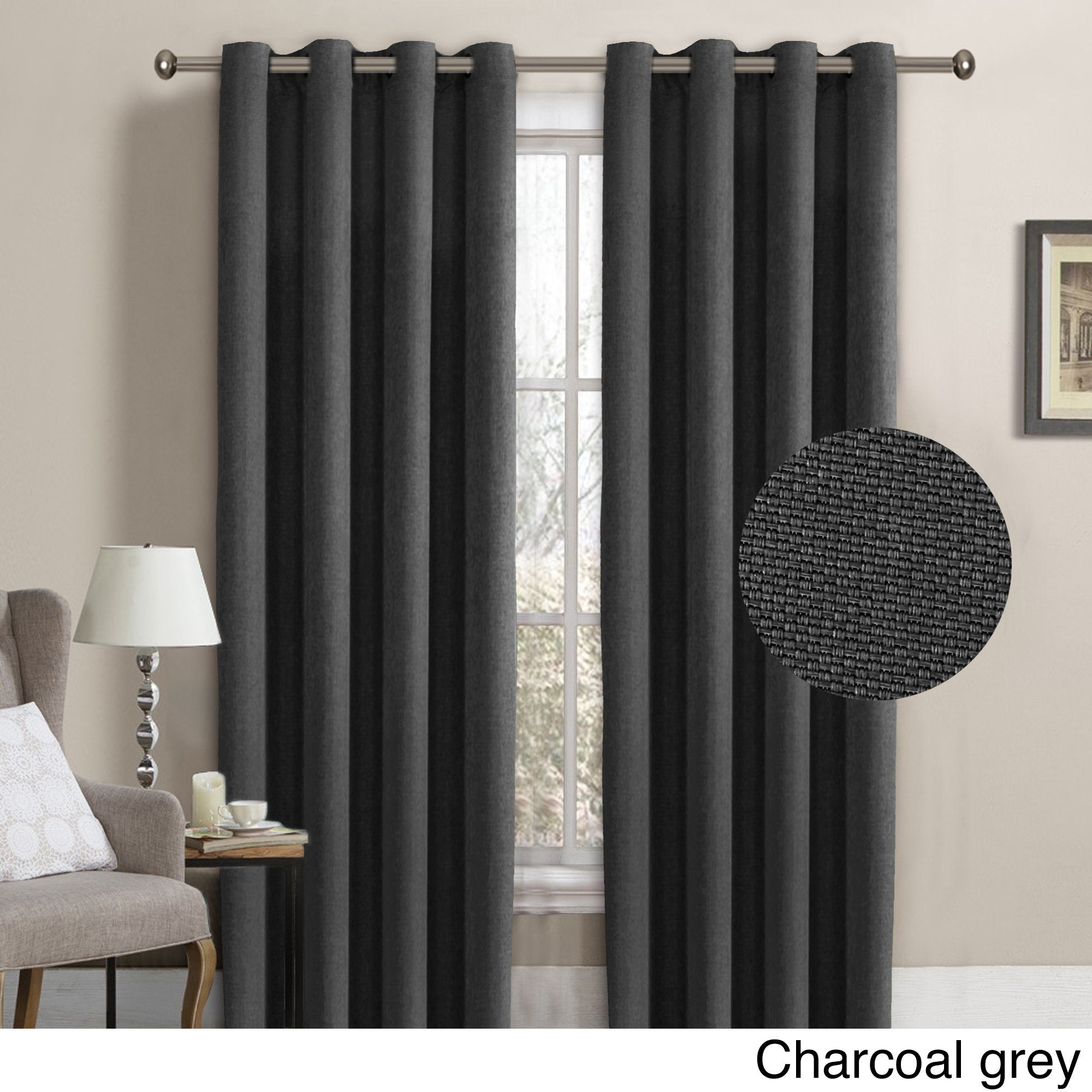 Linen Curtain Panels With Grommets Oh Decor Curtain