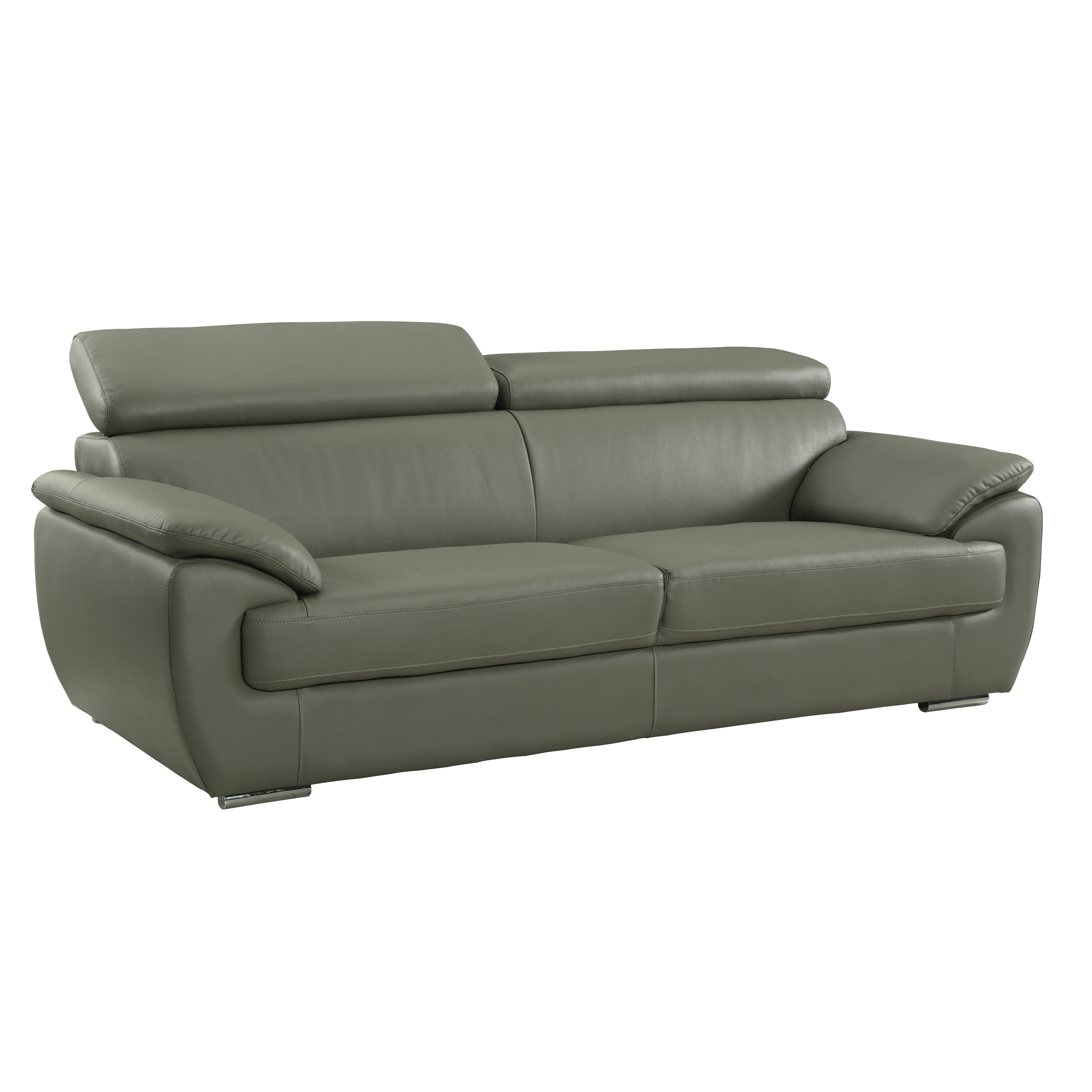 Grey Leather Sofas Couches Online At Our Best Living Room Furniture Deals