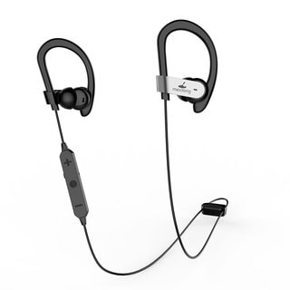 Wireless Bluetooth Active Noise Cancelling In-Ear Headphones with Sweat-Resistant Design and aptX Built in Microphone & Ear buds