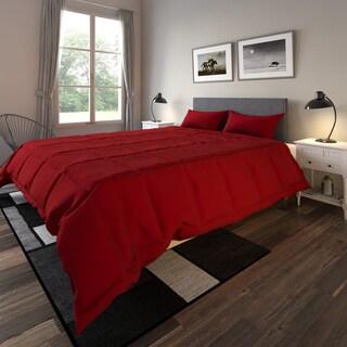 Porch & Den Casper Lisco Microfiber Down Alternative 3-piece Comforter Set