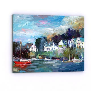 Copper Grove Richard Wallich 'Dock' Canvas Art
