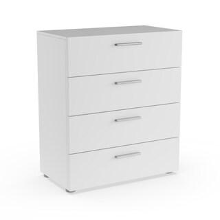 Porch & Den Kern Stanton Slender Wooden 4-drawer Chest