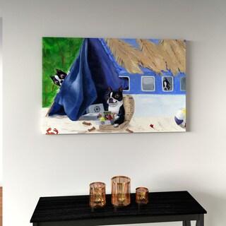Porch & Den Brian Rubenacker 'BT Lost' Print Canvas Wall Art