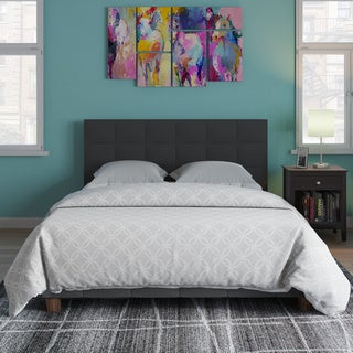 Wicker Park Claremont Linen Upholstered Bed