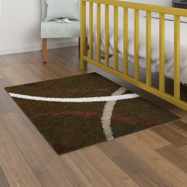 Porch & Den Hampden Keswick Brown/ Beige Area Rug - 3'3 x 4'3