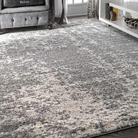 Porch & Den Seigel Granite Mist Shades Grey Rug - 4' x 6'