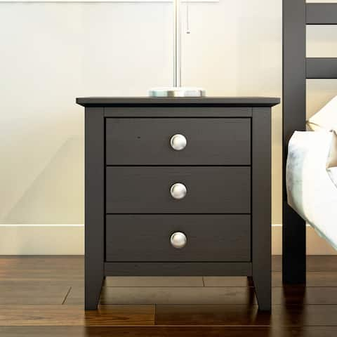 Copper Grove Petun 3-drawer End Table/ Nightstand