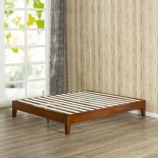 Porch & Den Leonidas Monticello 12-inch Deluxe Wood Queen-size Platform Bed