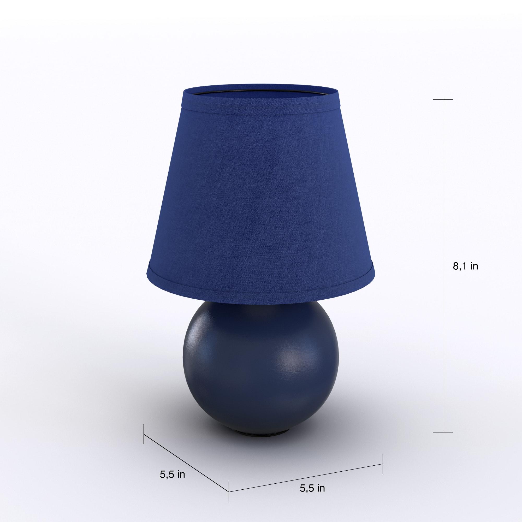 thumbnail 10 - Porch-amp-Den-Clarence-Mini-Ceramic-Globe-Table-Lamp